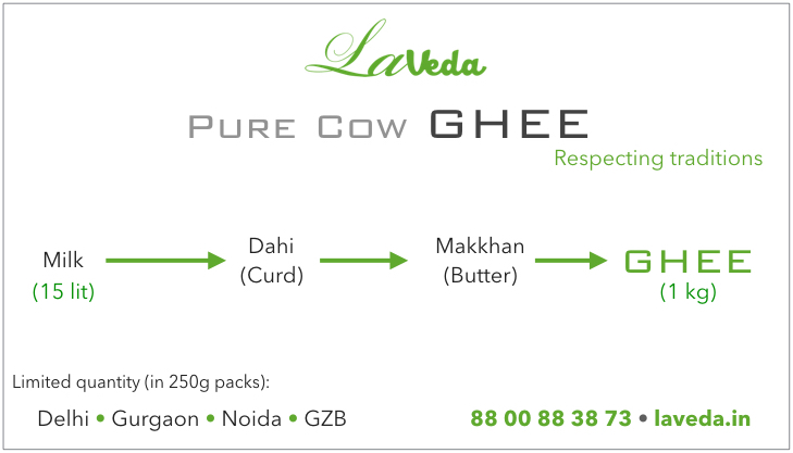 laveda-cow-ghee-from-curd-delhi-milk